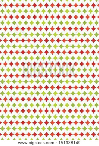 Diamond Shape Texture Chrstmas Paper Background;