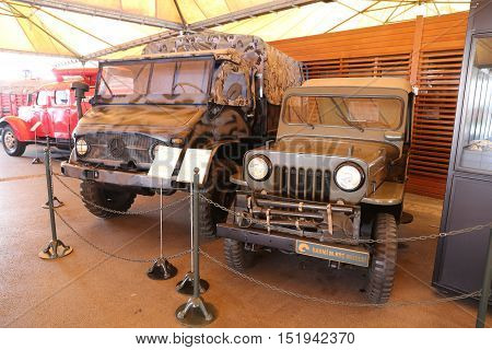 Military Vehicles In Koc Museum