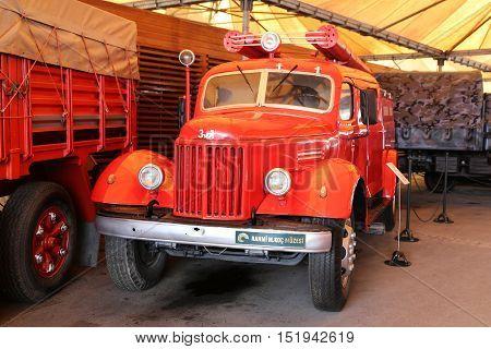 Fire Truck In Koc Museum