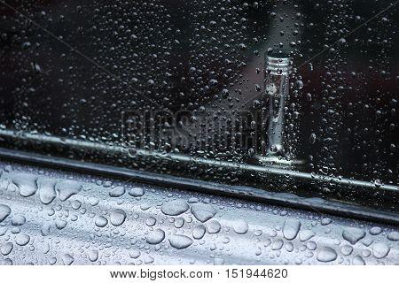 1971 Pontiac Lemans manual door lock through water soaked window