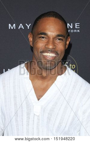 LOS ANGELES - OCT 13:  Jason George at the People's One to Watch Party at the E.P. & L.P on October 13, 2016 in Los Angeles, CA