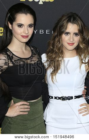 LOS ANGELES - OCT 13:  Vanessa Marano, Laura Marano at the People's One to Watch Party at the E.P. & L.P on October 13, 2016 in Los Angeles, CA