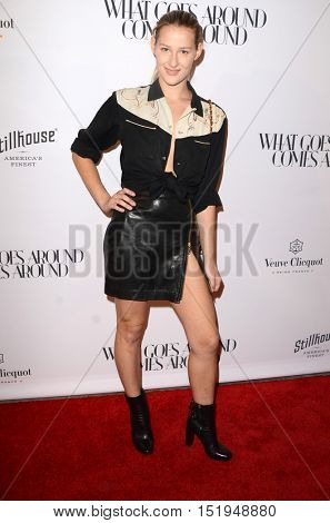 LOS ANGELES - OCT 13:  Destry Allyn Spielberg at the What Goes Around Comes Around Boutique Grand Opening at the What Goes Around Comes Around Boutique on October 13, 2016 in Beverly Hills, CA