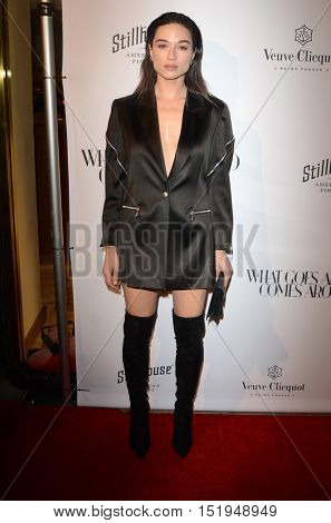 LOS ANGELES - OCT 13:  Crystal Reed at the What Goes Around Comes Around Boutique Grand Opening at the What Goes Around Comes Around Boutique on October 13, 2016 in Beverly Hills, CA