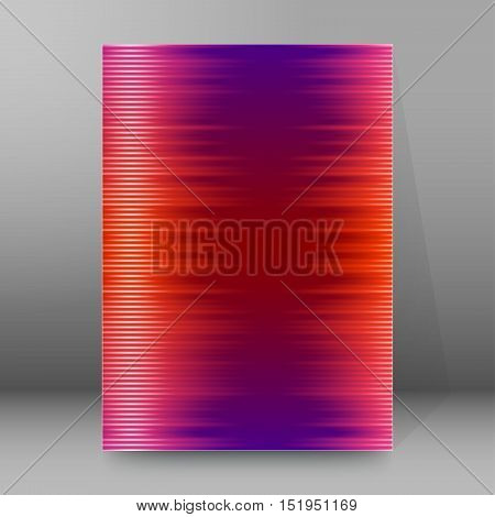 Background Report Brochure Cover Pages A4 Style Abstract Glow76
