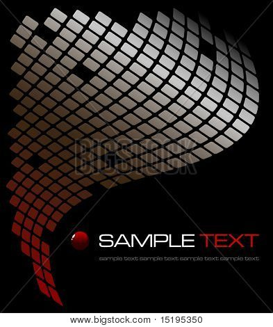 tech abstract background - vector illustration - jpeg version in my portfolio