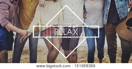 Relaxation Calm Chill Peace Resting Vacation Concept