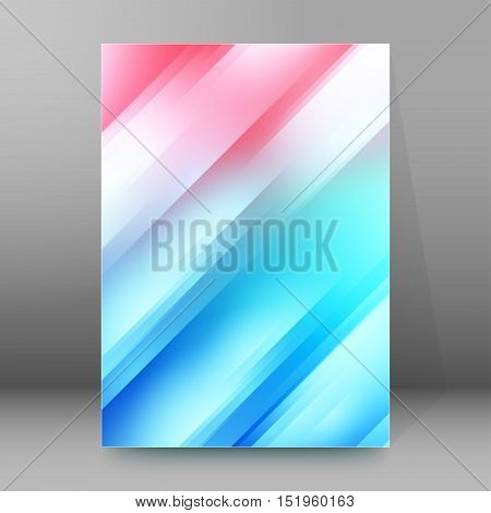 Background Report Brochure Cover Pages A4 Style Abstract Glow80