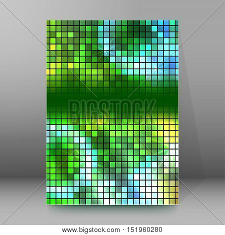 Background Report Brochure Cover Pages A4 Style Abstract Glow82