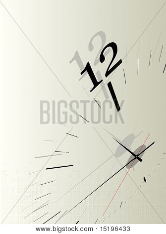 Time concept composition poster