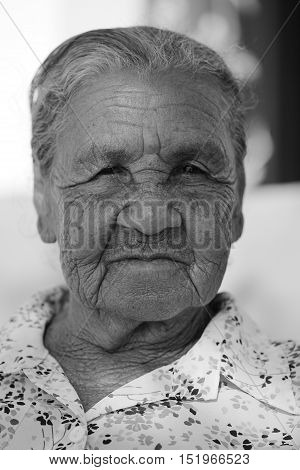 An Old woman and Granny from Brazil