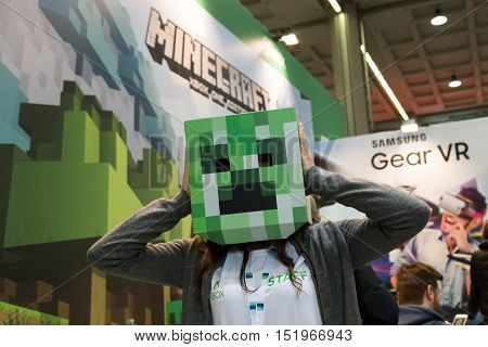 People At Milan Games Week 2016