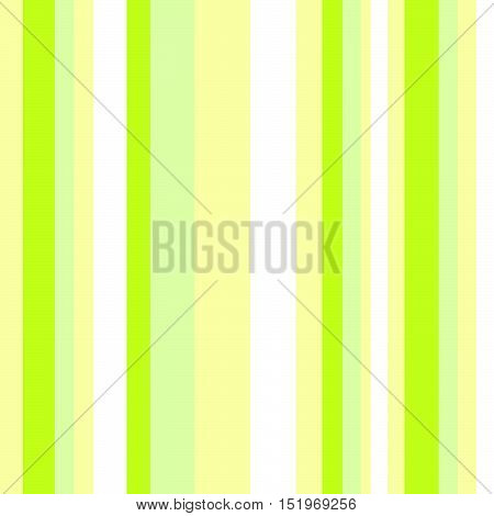 Striped pattern with stylish and bright colors. Green and yellow stripes