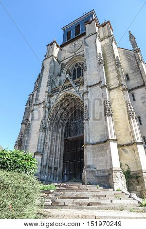 Church Saint  Jacques in Lisieux, Normandy,  France.