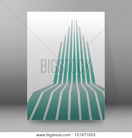 Background Report Brochure Cover Pages A4 Style Abstract02