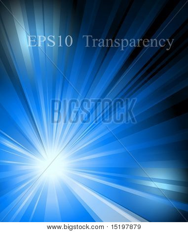 Abstract blue tech background. Vector illustration