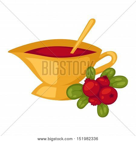 Cup of tea vector symbol Tea set on white background. Some traditional chinese tea ceremony. Chinese tea flat vector illustration