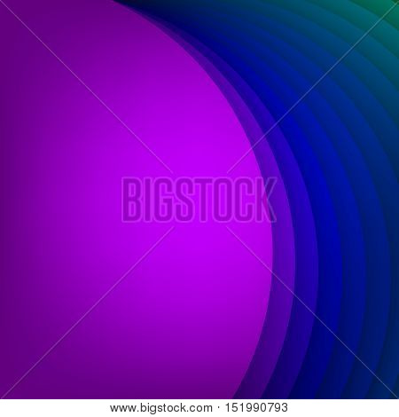 Arc modern vector background for poster, book, brochure, website design or presentations. Arc layered shape base. Vector illustration