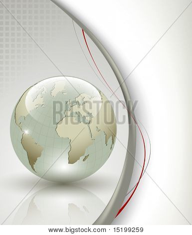 Business elegant abstract background