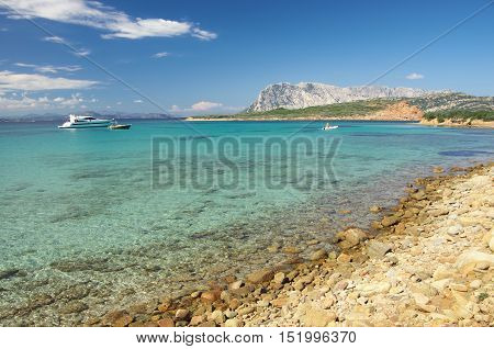 The Turquoise Sea Of Sardinia