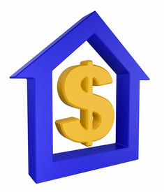 House Icon With Dollar Symbol