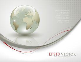 Elegante antecedentes empresariales - ilustración vectorial