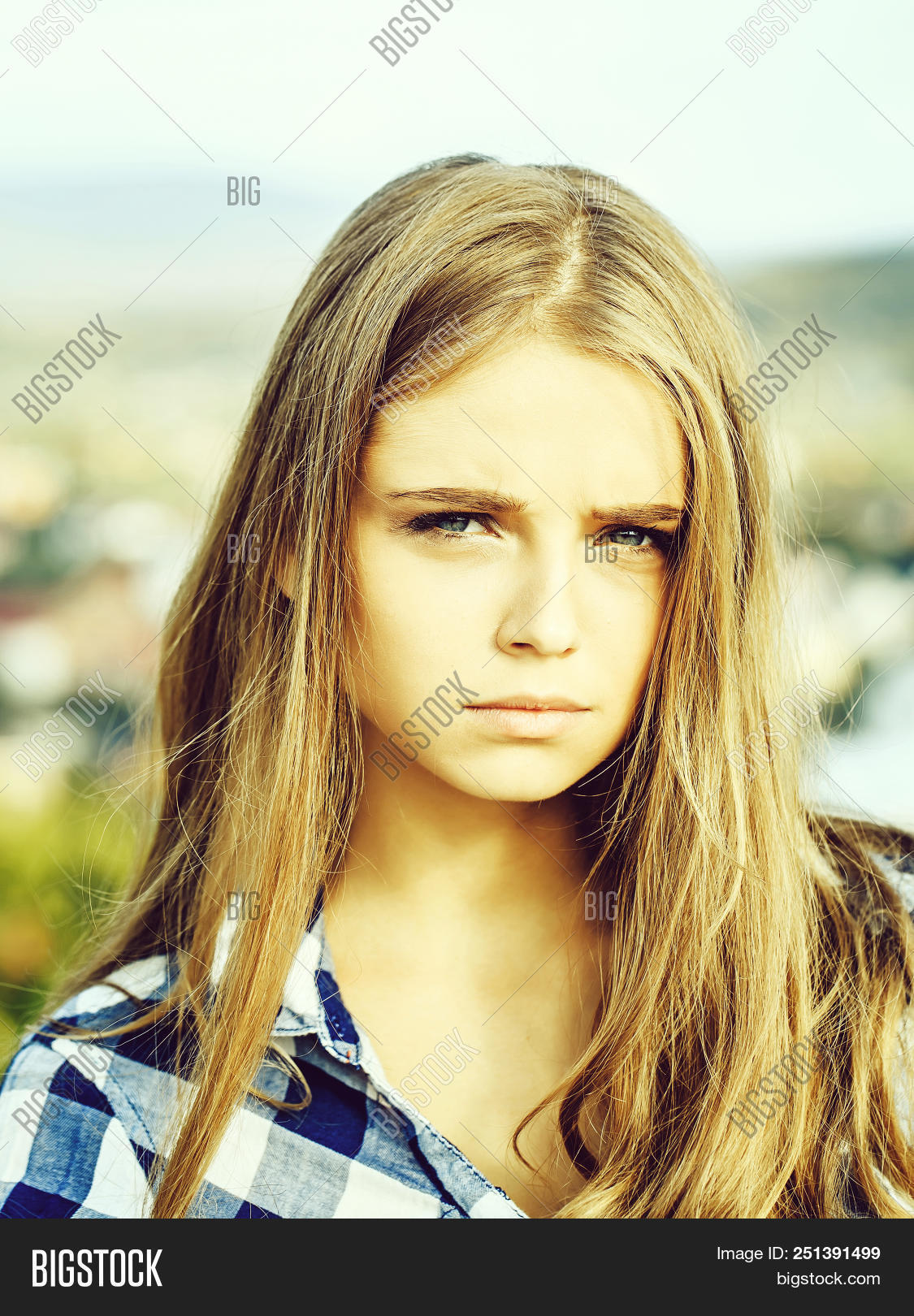 Pretty Girl Young Image Photo Free Trial Bigstock