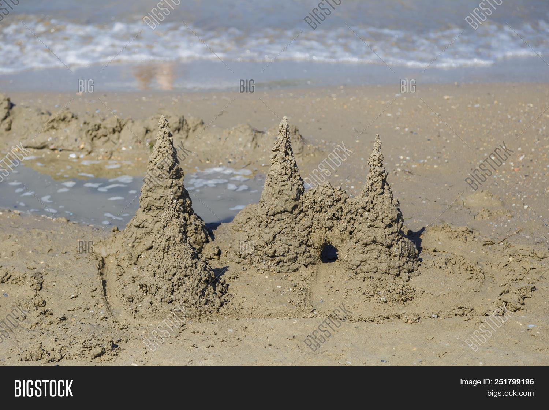 Built House Sand Image Photo Free
