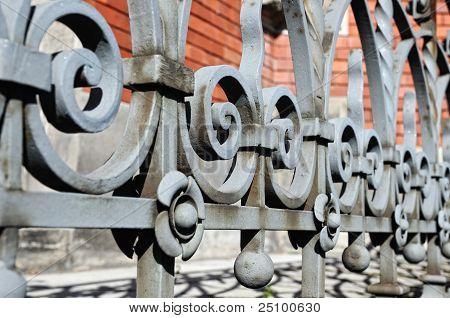 forged railing