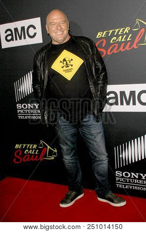 Dean Norris arrives at the AMC's