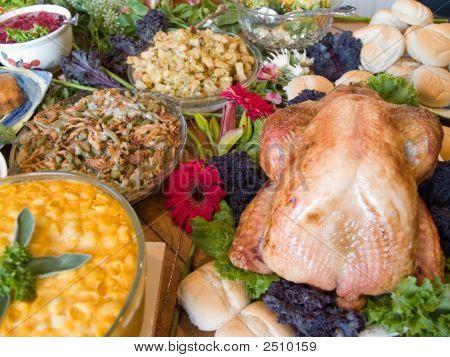 Huge Spread Of Food