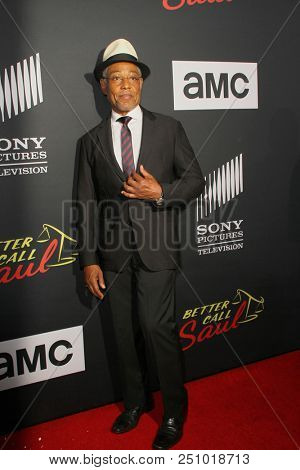 Giancarlo Esposito arrives at the AMC's