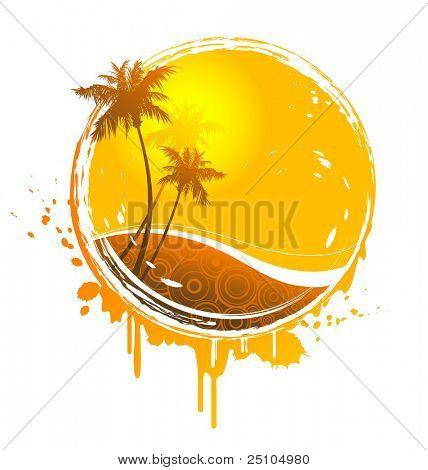 tropical sun-splash