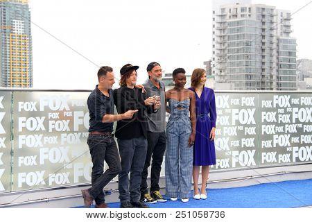 Cast members of