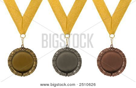 Three Round Medals