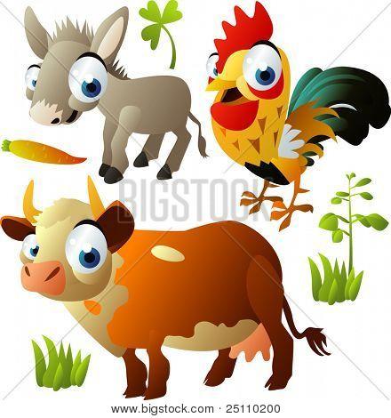 domestic animals 2010 set 3