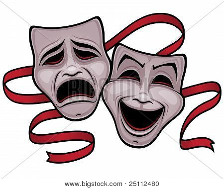 Comedy And Tragedy Theater Masks