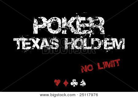 Poker Texas Hold'em - No limit