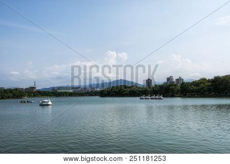 Ohori Park Pond
