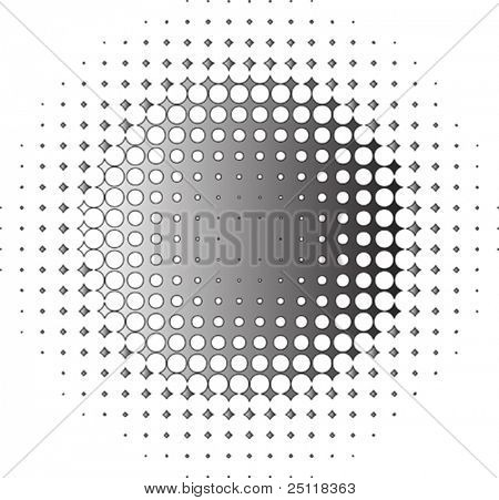 vector element - halftone