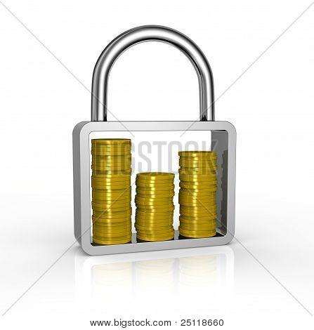 Protect Savings Concept
