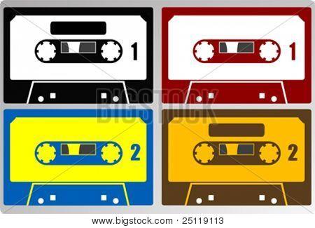 Vector cassettes tape
