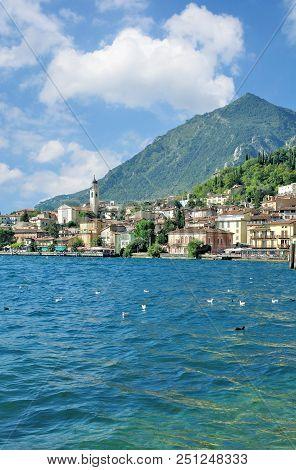 Limone Sul Garda At Lake Garda In Lombardy,italy