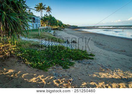Bundaberg Beach In Queensland, Australia, In The Summer