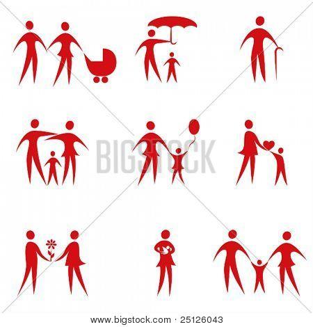 Family vector set