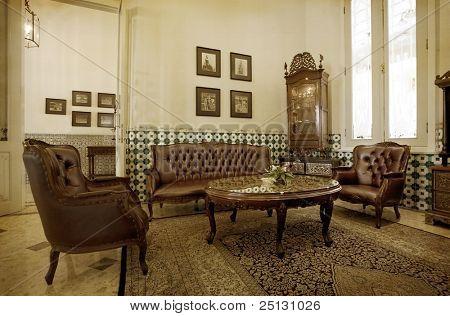 Vintage Dutch Colonial living room