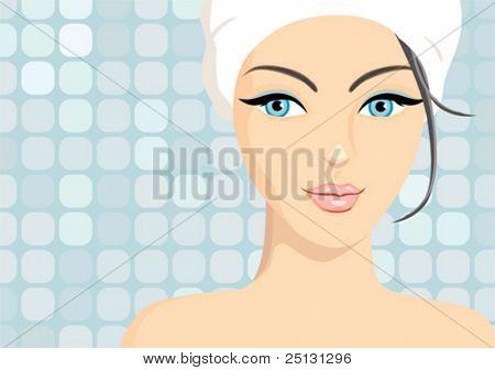 Spa beauty in vector format