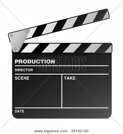Vektor Film Maker Clapper board