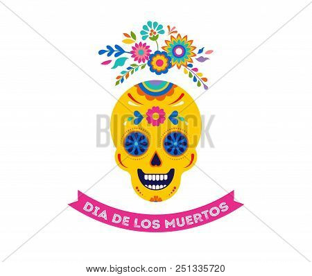 Day dead dia de los vector photo free trial bigstock day of the dead dia de los muertos background banner and greeting card concept m4hsunfo