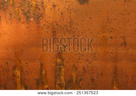 Sheet Rusty Ferric Decorative Background.rust On Ferric